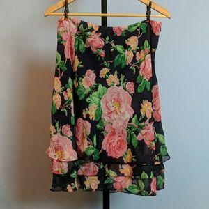 NWOT - Lauren by Ralph Lauren Floral Skirt - Sz 10